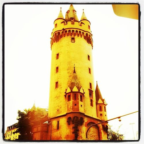 Eschenheimer_turm Frankfurt Frakfurtcity Frankfurtlovers Turm Tumblr Lomoblog Iphonography