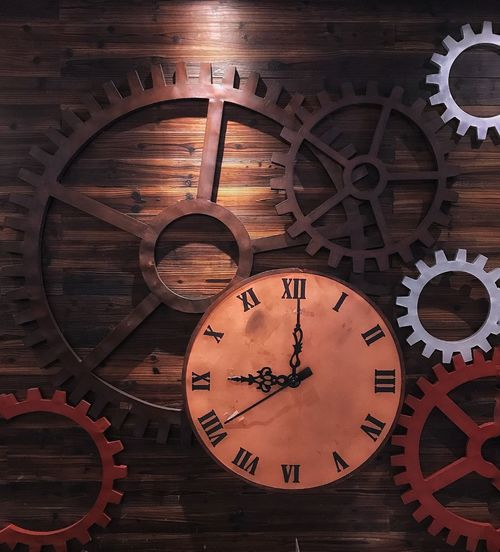 Time 👌🏼 Time Clock Old-fashioned No People Indoors  Clock Face Close-up Clockworks Day