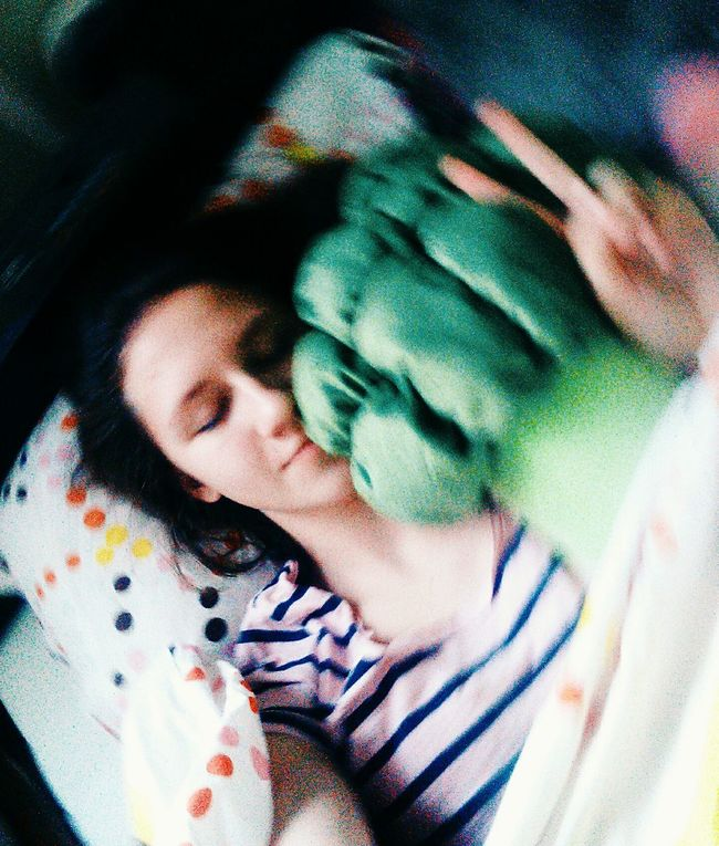 Ready For Sleep Broccoli My New Love Ikea♥ Toy Relaxing Taking Photos That's Me Check This Out At Home