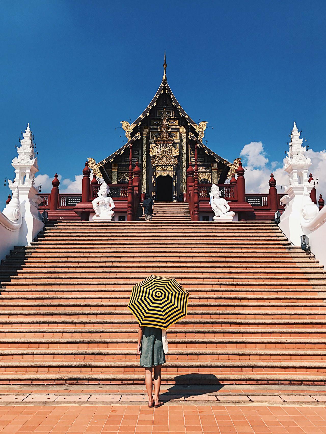 Temple Symmetry Architecture Travel