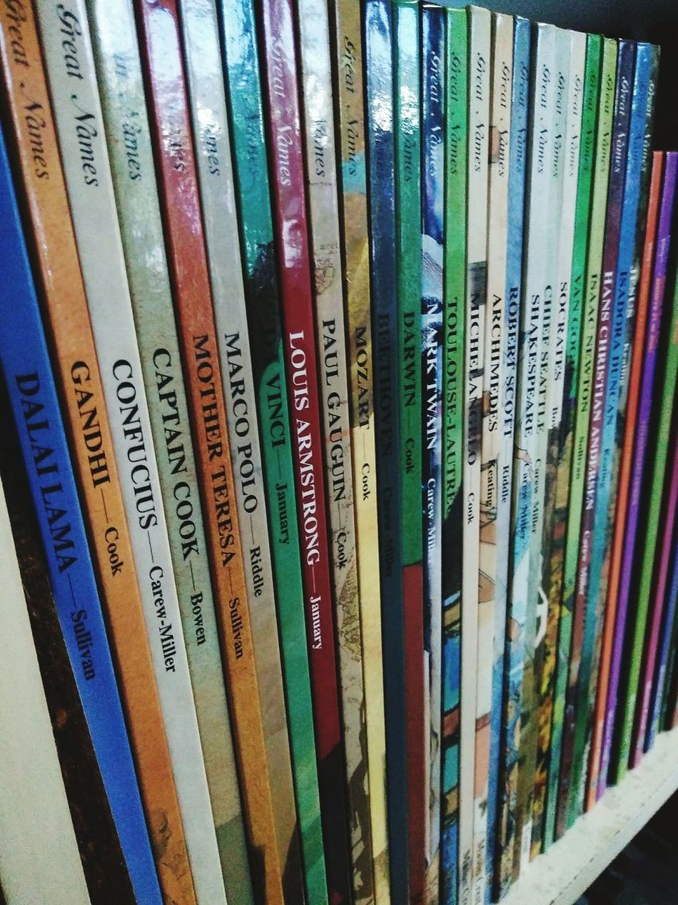 Large Group Of Objects Full Frame Indoors  Collection Close-up Choice Variation Bookshelf Many Of Books Multi Colored Collections Storybook No People