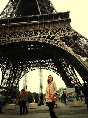 Sightseeing at Tour Eiffel by Lucy Stanley