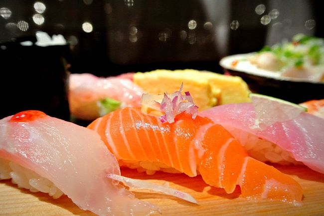 Sushi Nigiri Nigiri Sushi Salmon Salmon Nigiri Salmon Sushi Fish Raw Fish Sushi Rolls Japan Japanese  Japanese Food Food Rice Japanese Foods Showcase: February In A Line Selective Focus Sushi Rice Sushi Restaurant Raw Food Yellowtail Sushi In A Line Food Arrangement Everything In Its Place