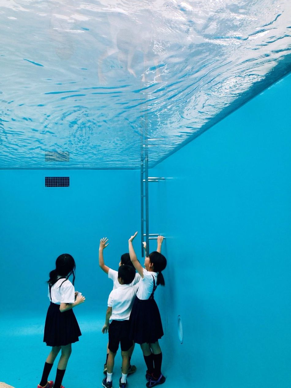 Leandro Erlich Pool Contemporary Art Kids