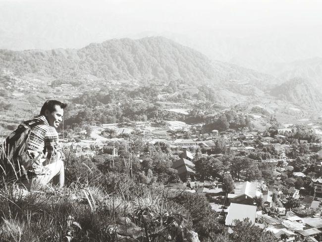 Mountain Hiking Black & White