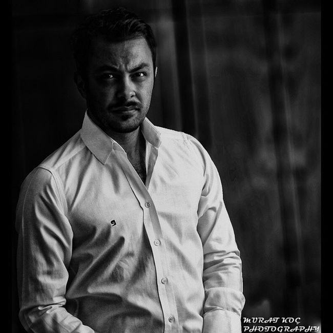 Handsome Bursa Muratkocphotography Blackwhite portrait dark