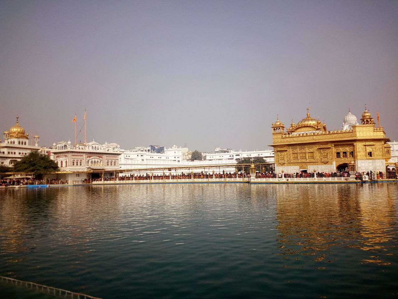 Building Exterior Built Structure Clear Sky Golden Temple No People Sunny Weather Travel Destinations Water