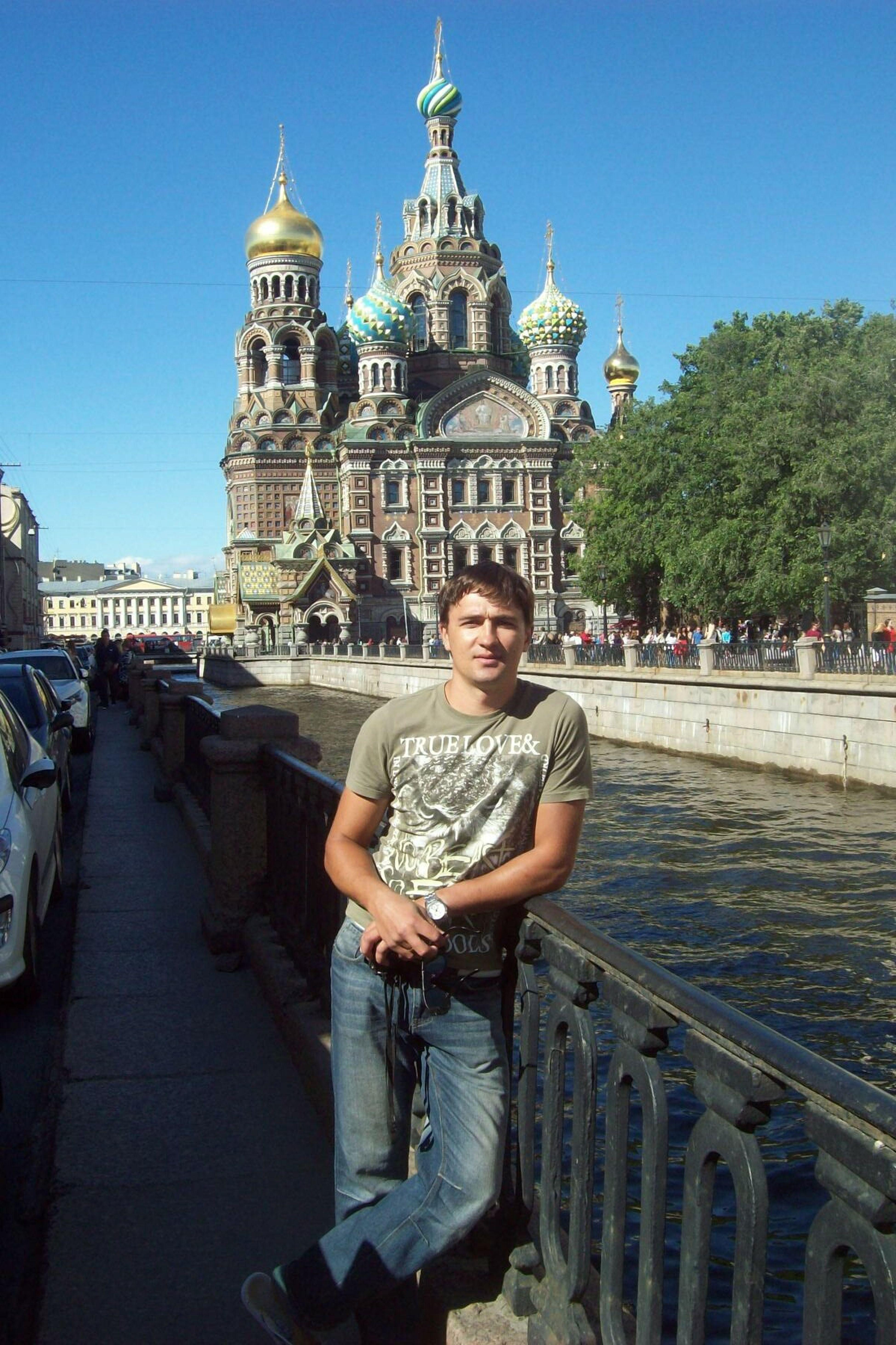 Санкт-Петербург, Наб. канала Грибоедова вид на Храм Спаса-на-крови