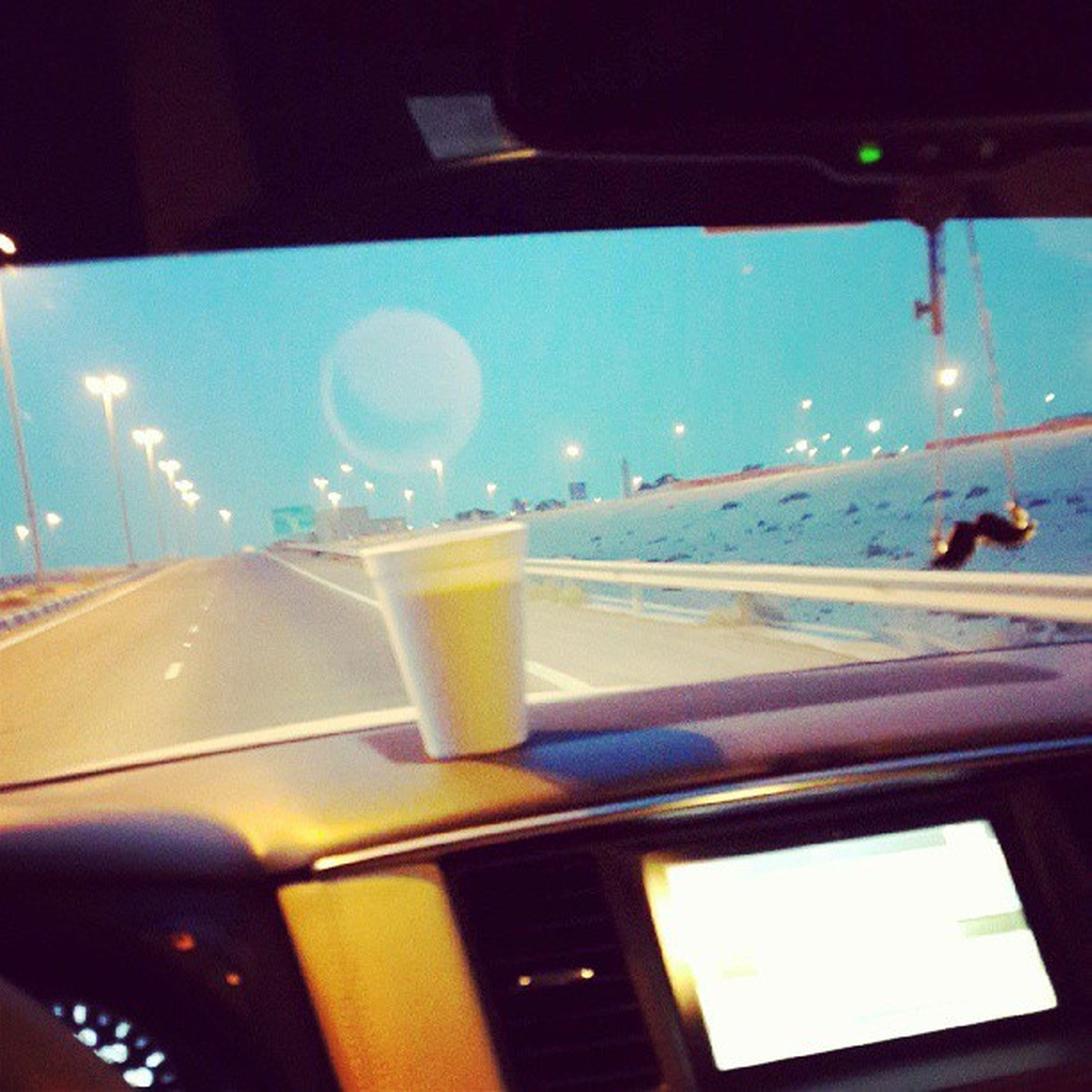 transportation, vehicle interior, mode of transport, car, glass - material, land vehicle, transparent, car interior, windshield, window, air vehicle, airplane, illuminated, indoors, travel, part of, on the move, night, flying, cropped