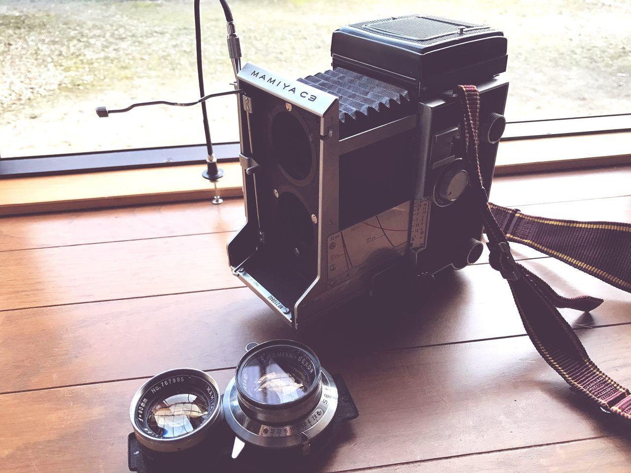 Technology Twin-lens Reflex Mamiya Broken Viewfinder