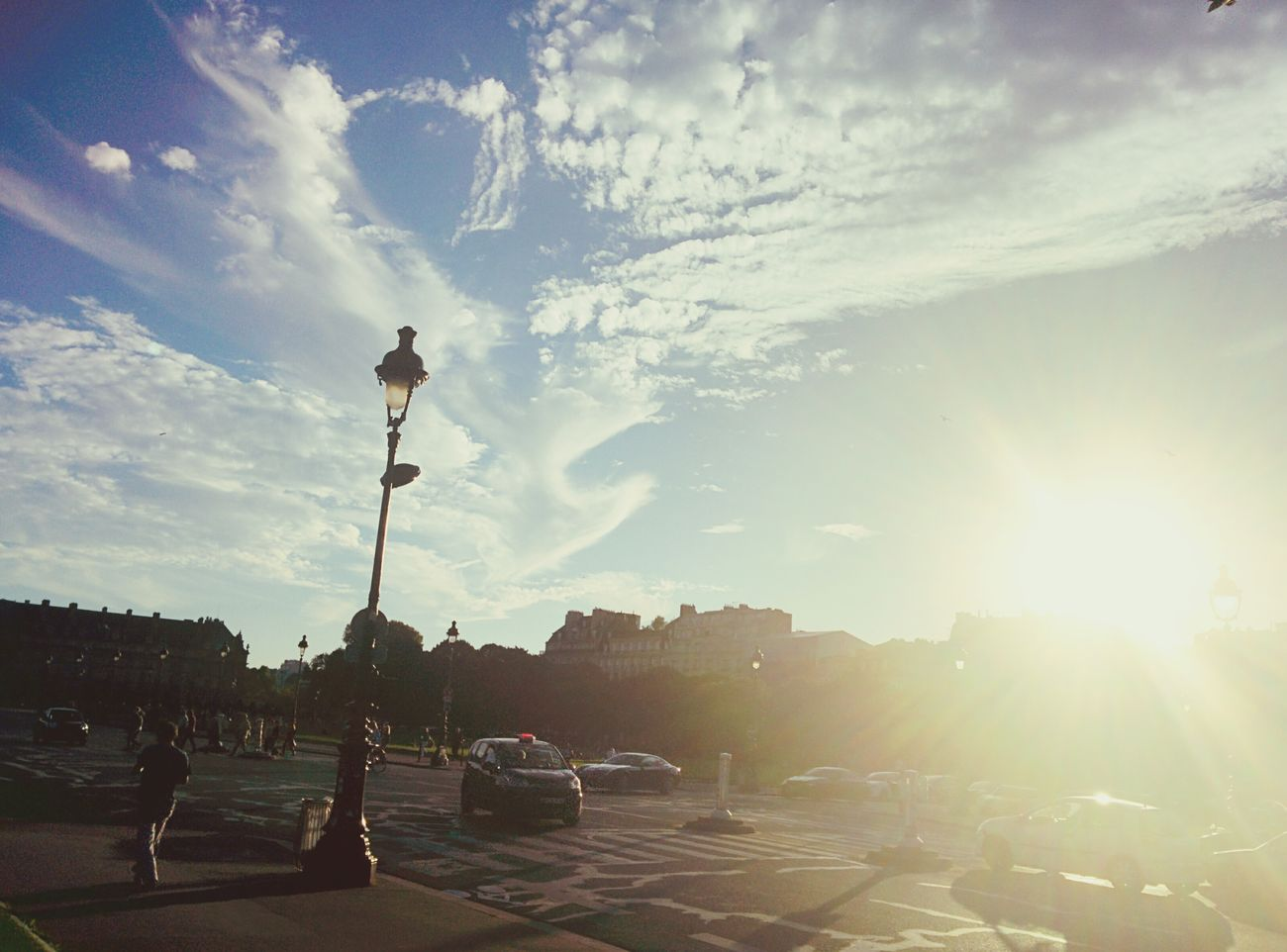 Paris Invalides  Chilling