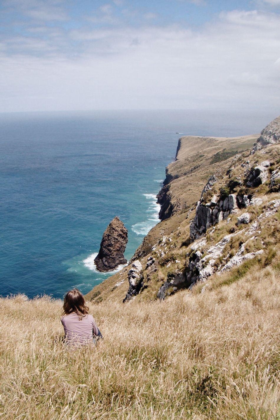 Newzealand Newzealandoutdoors Explorenewzealand Outdoors Sea Ocean Seascape Horizon Over Water Tranquil Scene Scenics Nature Otago Explore Cliffs Coastline Coastal