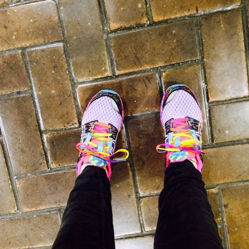 New Sneakers Rainbow Taking Photos That's Me
