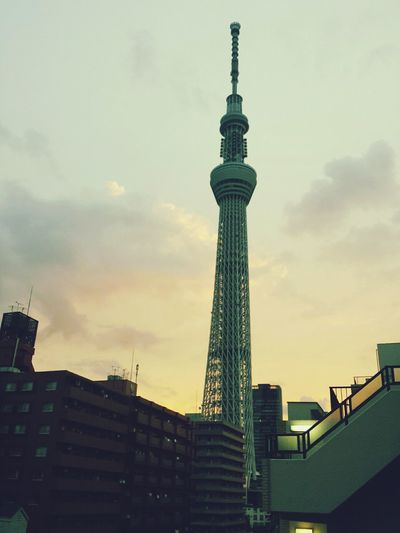 Good Morning! Have A Nice Day♥ Japan Sky Tree