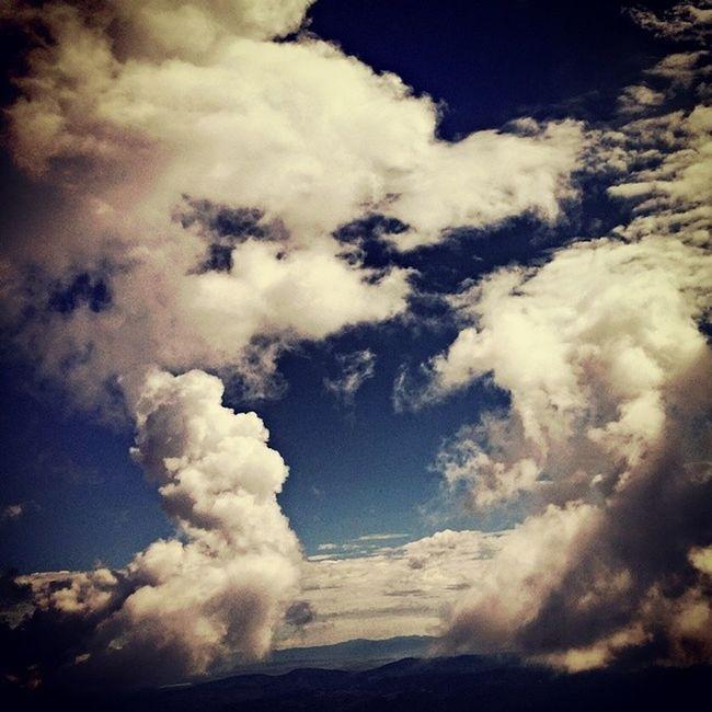 Clouds Colorado Mtshavano 14er
