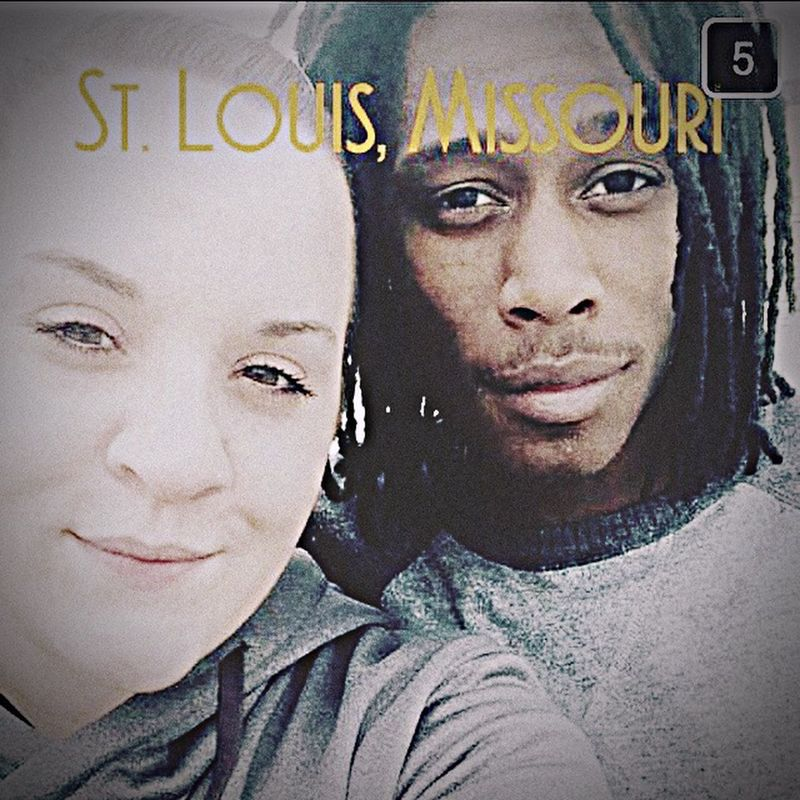 Traveling around with this beautiful women Stlouis Architectural Feature