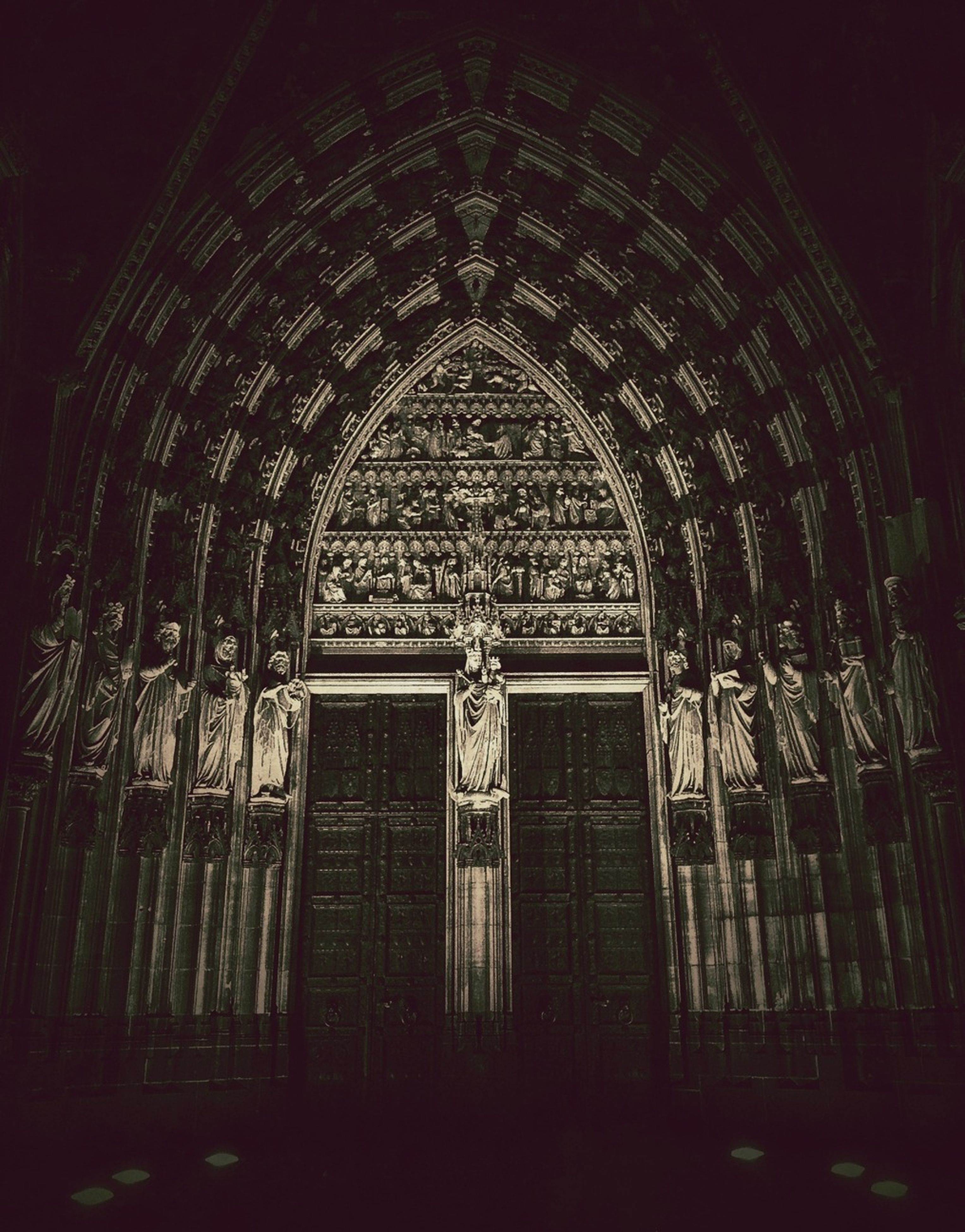 place of worship, religion, architecture, spirituality, built structure, church, indoors, arch, window, building exterior, low angle view, cathedral, ornate, entrance, door, pattern, history, design