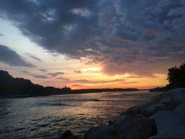 Sunset at Laguna de Chacahua Sunset Beauty In Nature Nature Water Sky Cloud - Sky Chacahua