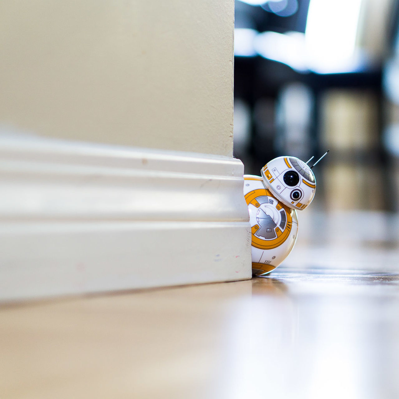 Sphero BB-8 Droid Indoors  Selective Focus Sphero Spherobb8 Star Wars Still Life Toy First Eyeem Photo