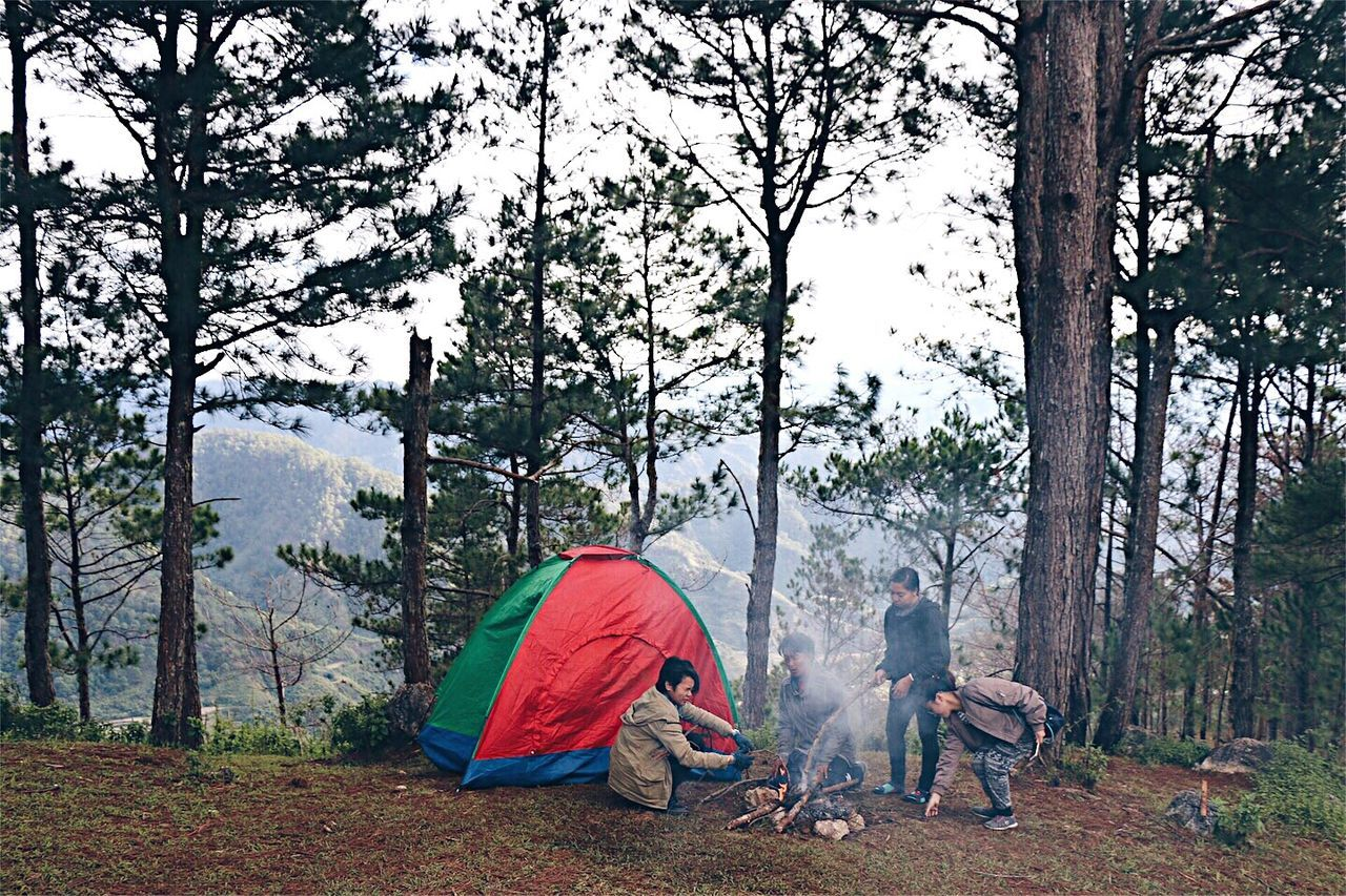 Camping Outdoors Adventure Mountain Trekking Camping EyeEmNewHere