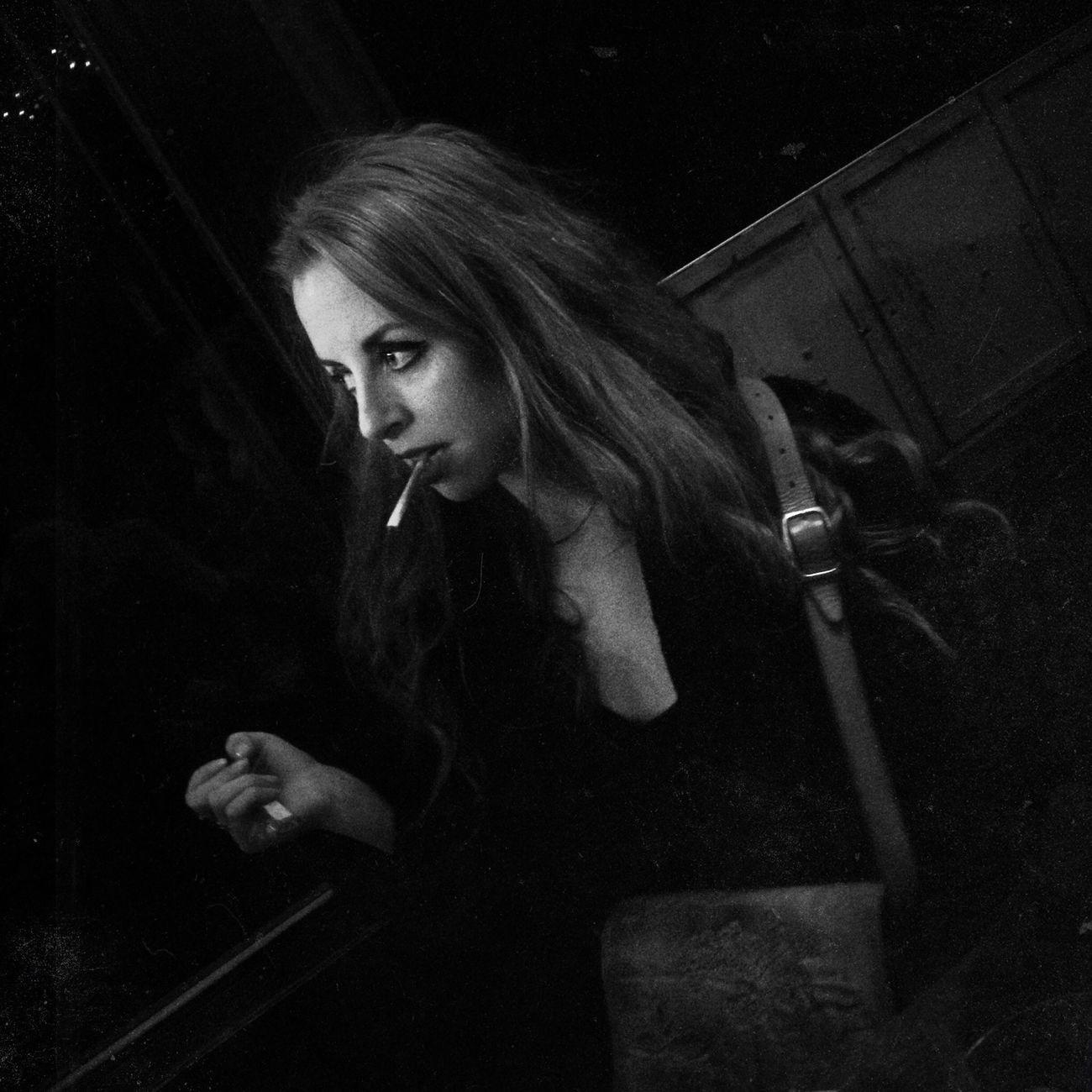 Portrait of Lou smoking, 2014 WeAreJuxt.com NEM Memories The Portraitist - 2014 EyeEm Awards Shootermag