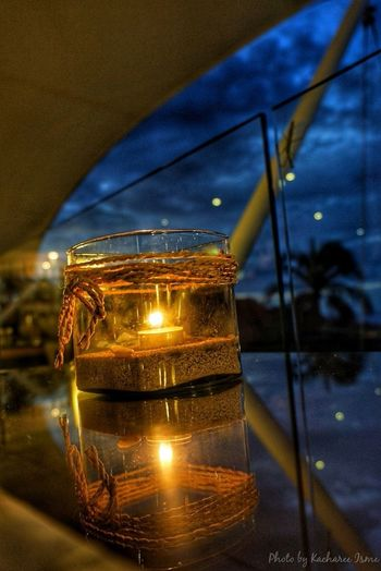 Under the stars.... Relaxing Nice Atmosphere Enjoying Life Candlelight