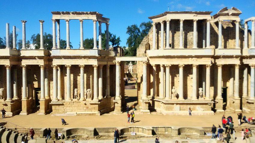 Mérida Ruins Sun