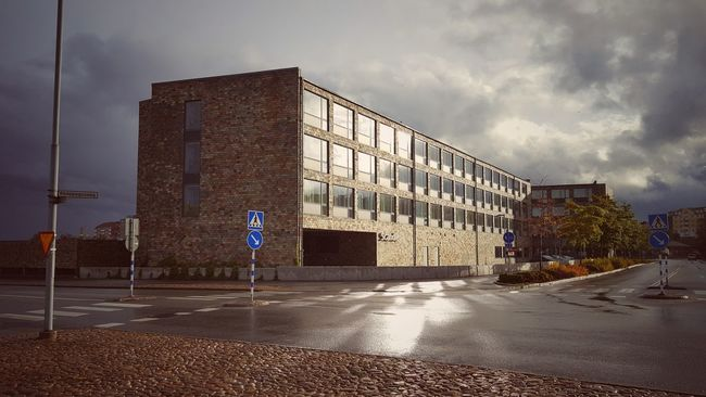 Scandic Hotel Karlskrona Architecture Street Built Structure Building Exterior Cloud Outdoors Cloudy City Sky Scandic Hotel Scandic Reflection Scandic Karlskrona Scandinavian Design