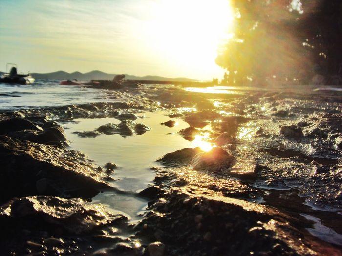 Croatia Hvar. Croazia. Summer Sea Sun Sunset Sea And Sky Seaandsunset Lovemylife Mylife Nikon