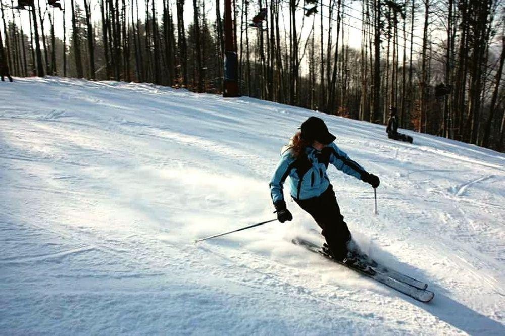 Skiing Having Fun Love Winter Fun Times ^_^