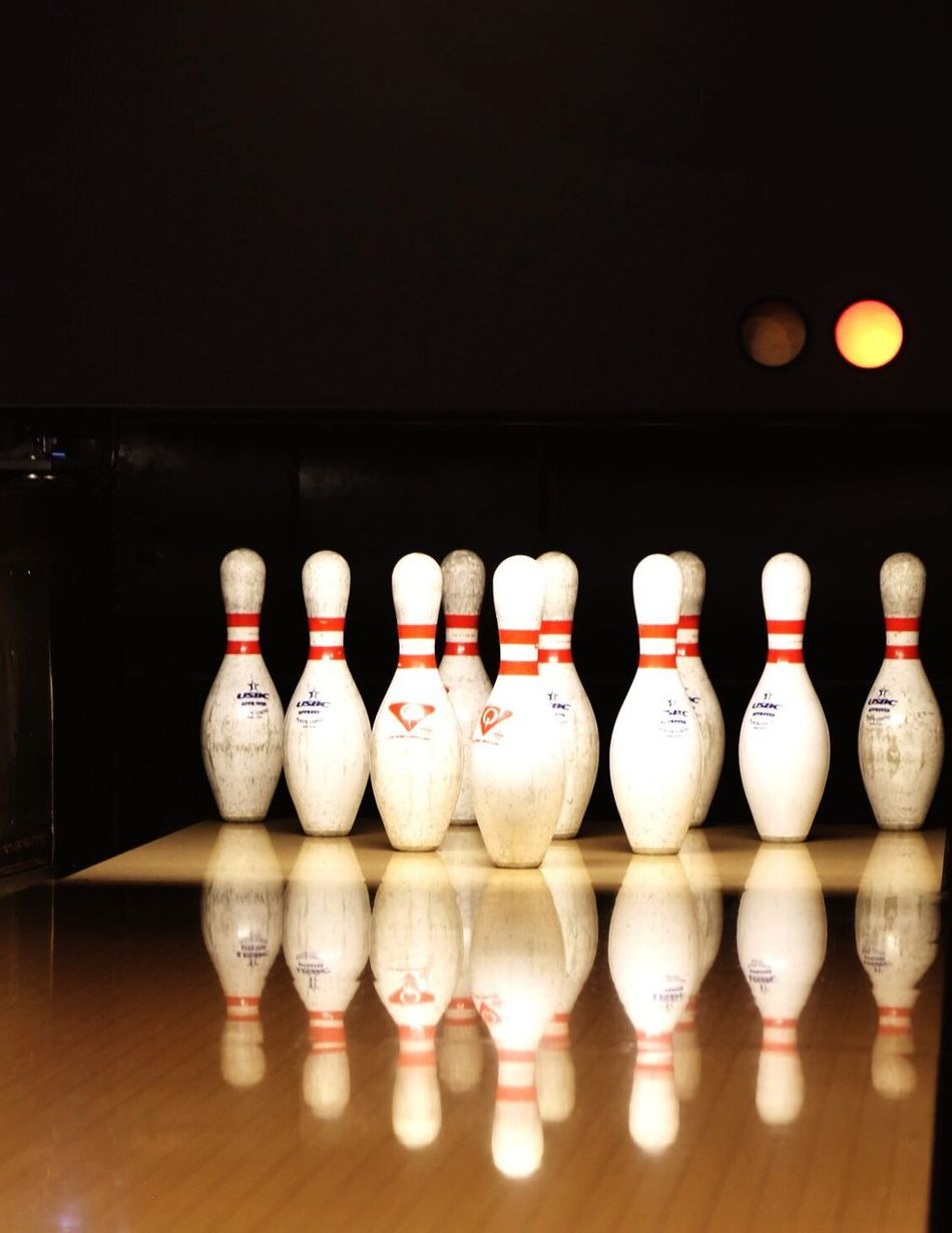 Game time Bowl Bowling Bowling Alley Bowling Pins Sports Sports Photography Concentrate Concentration Reflection Reflection_collection Copyspace