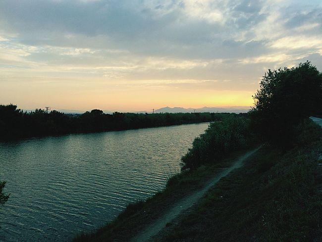 River The Minimals (less Edit Juxt Photography) Taking Photos Enjoying Life BTM Sea And Sky