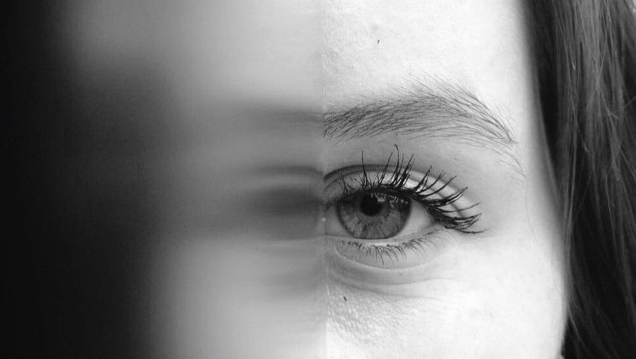 Empowerment Welcome To Black Human Eye Eyelash Close-up Beauty Eyebrow Young Adult Human Body Part One Person Sensory Perception Real People Young Women Eyesight Portrait Beautiful Woman People Eyeball Adult Day