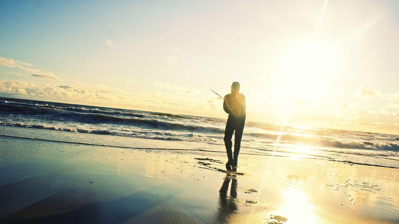 Beautiful stock photos of sunshine, 25-29 Years, Beauty In Nature, Day, Fishing