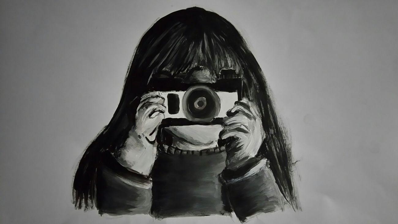 Una foto siempre contara muchas historias Photography Dibujo Grises Acrilic Paint Acrylic Acrylics 📷