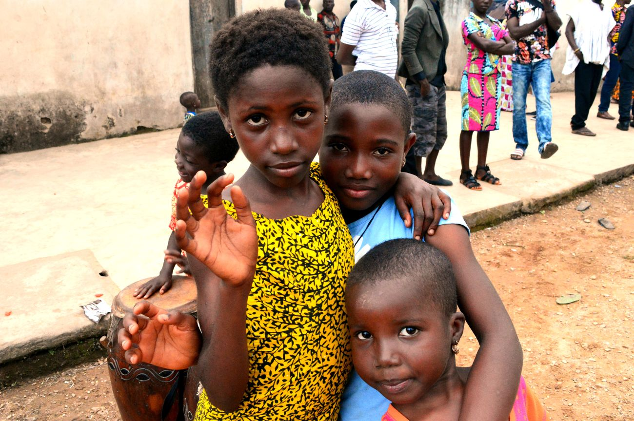 Africa African Child Friendship Togo