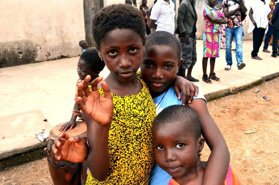 Africa African Child Friendship Togo