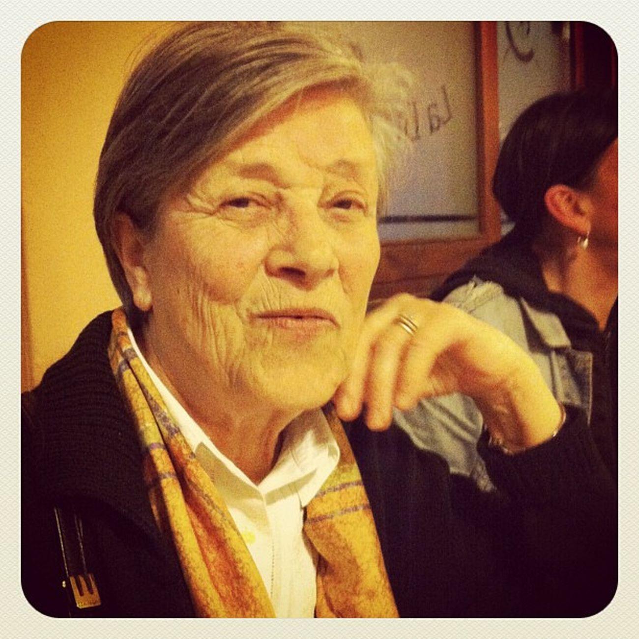 A cena con la mamma di Lu, ricordando una grande maestra e una insostituibile amica
