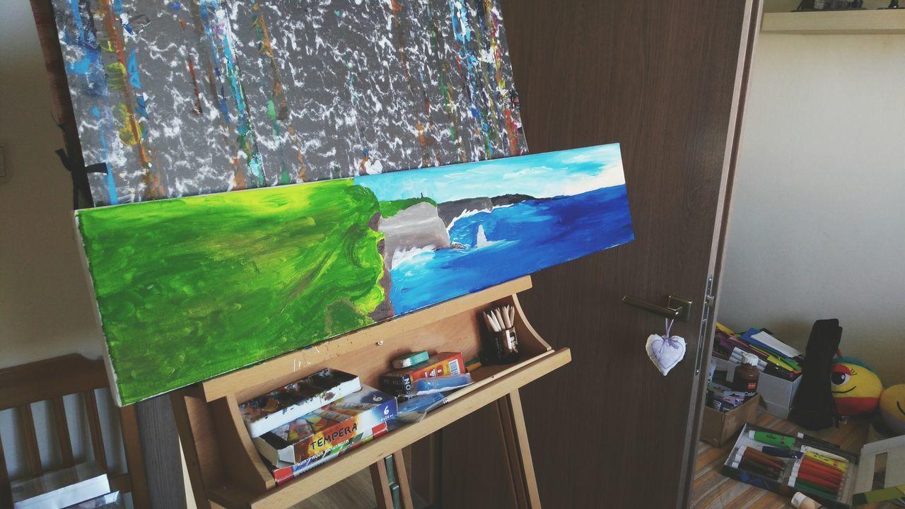 Ireland🍀 🎨 Painting Art, Drawing, Creativity Romantic Myartwork Allyouneedisart Feelart Acrylic Painting