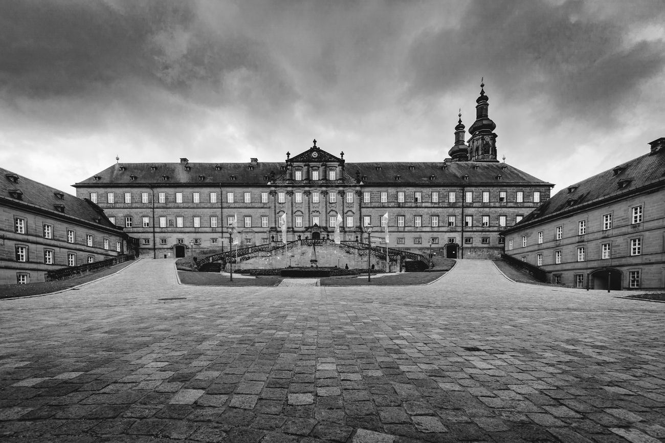 kloster Government Architecture No People Black And White Outdoors Sky Day Banz germay Religion Bavaria Franconia historisch