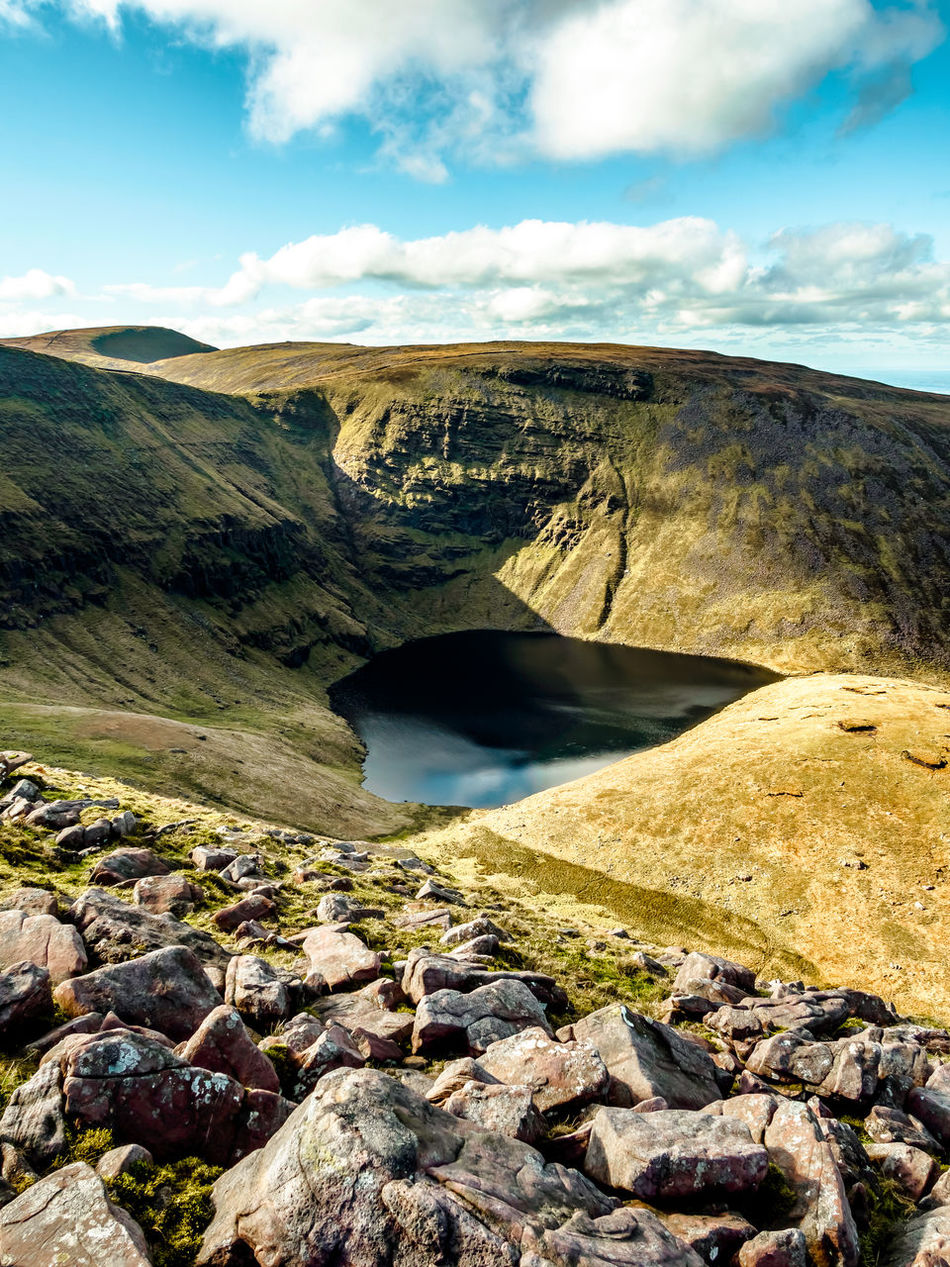 Lough Curra - Galty Mountains Corrie Lake Beauty In Nature Cloud - Sky Day Galtees Galty Mountains Geology Hiking Ireland Lake Landscape Lough Nature Nature Reserve No People Outdoors Rock - Object Scenics Travel Travel Destinations Make EyeEm A Troll-Free Zone!