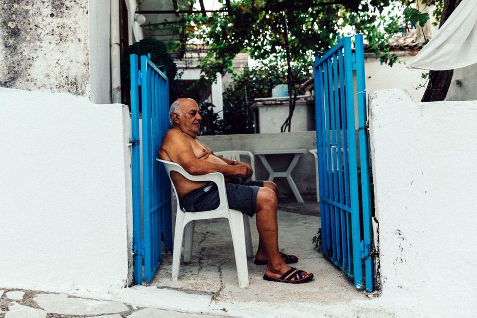 People And Places Greece Portrait