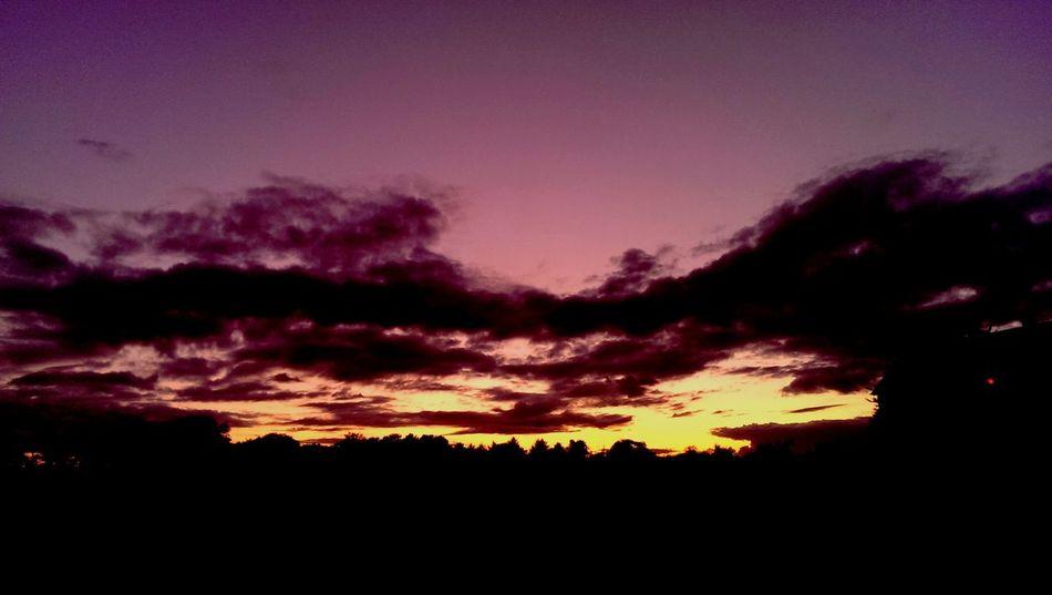 Sunday evening sunset