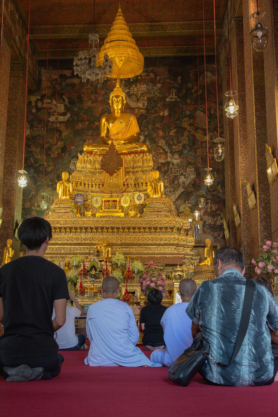 El maravilloso templo del Buda Reclinado. Wat Pho, Bangkok, Thailand. ASIA Bangkok Buddha Buddhism Buddhism Culture Buddhist Temple Budismo Meditation Reclining Buddha Statue Stupa Temple Templo Thailand Travel Travel Destinations Travel Photography Traveling