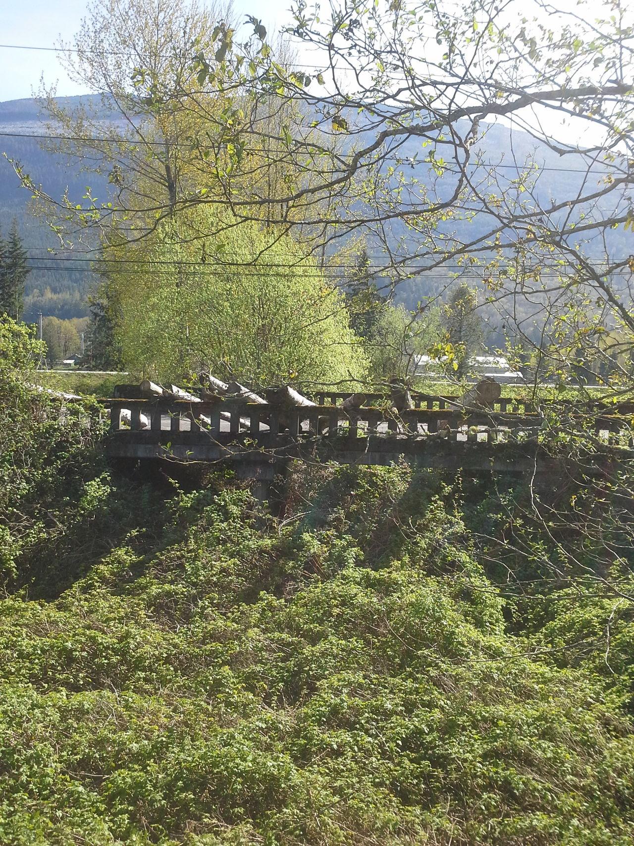 washed ou bridge