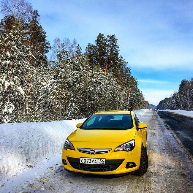 Красивых дорог в ленту ☺️ Hello World Beautiful Relaxing Taking Photos Opel Opel Astra Taking Photos Russia яркиекраски природароссии Russia россия Siberia Природа Всемудачногодня улыбайся Beautiful Nature