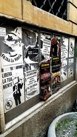 First Eyeem Photo EyeEmNewHere Rome Italy Street Billboard Board