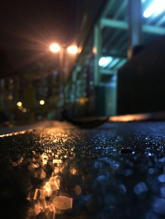 Rainy Day Rain Leaf 🍂 Leaf Night City Night Lights Night Lights Reflection Reflections Light And Shadow Light In The Darkness