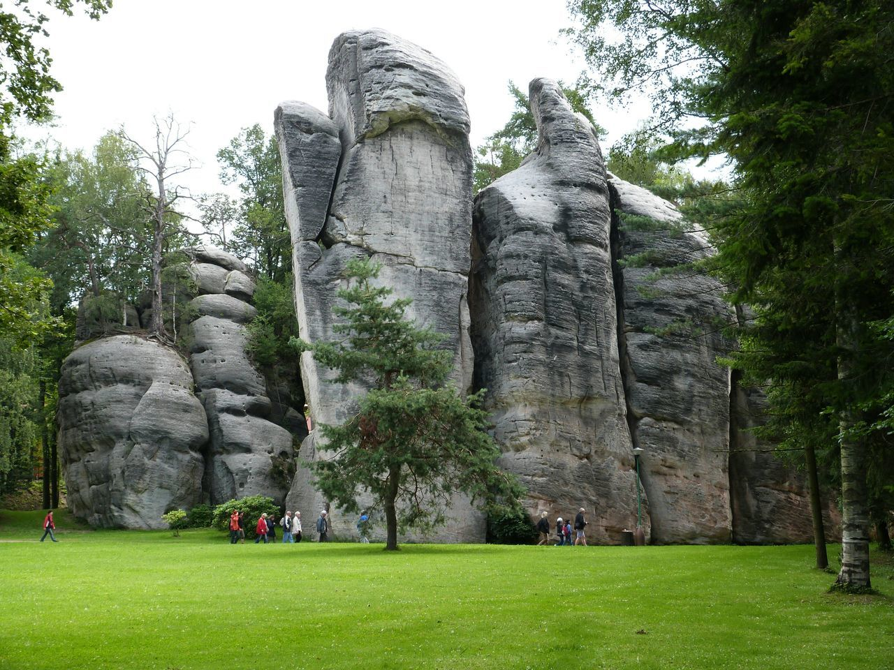 Rock Formations In Park
