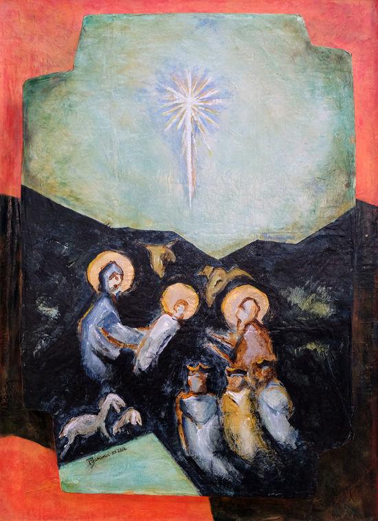 Nativity Scene, birth of Jesus Bethlehem Birth Christianity Christmas Creche Croatia Faith Family Holy Jesus Joseph Manger Nativity Peace Religion Religious  Sacred Saint Savior Spiritual Virgin Mary Worship